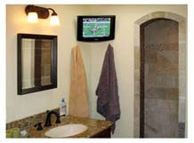 LCD TV in Master Bath