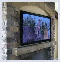Custom Plasma TV Installation